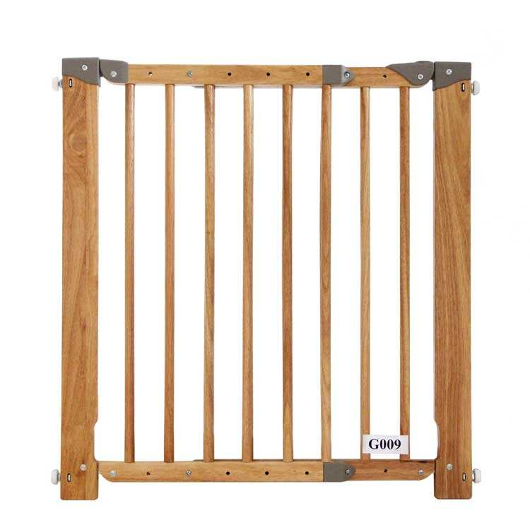 G009 OEM Babysafe original wooden baby safety gate