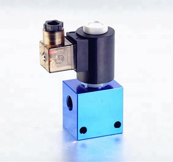 Electro solenoid V2068 and DHF08 hydraulic cartridge valve cartridge manifold block normally open close solenoid valve