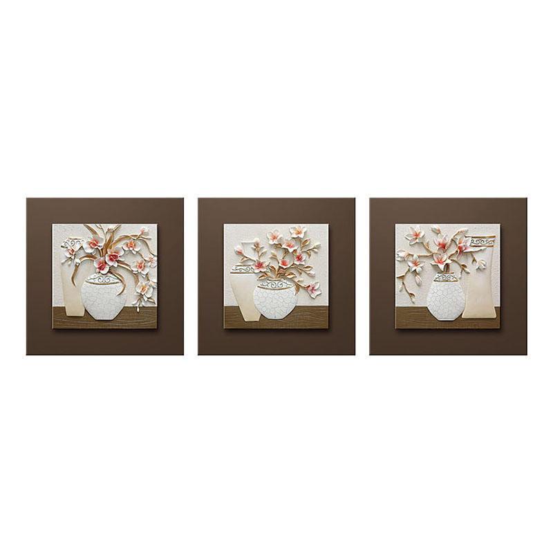 Décoration murale classique Objets de résine de fleurs