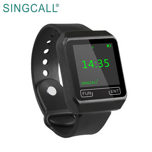 SINGCALL Call Button Pager Mobile Watch Receiver for Restaurant