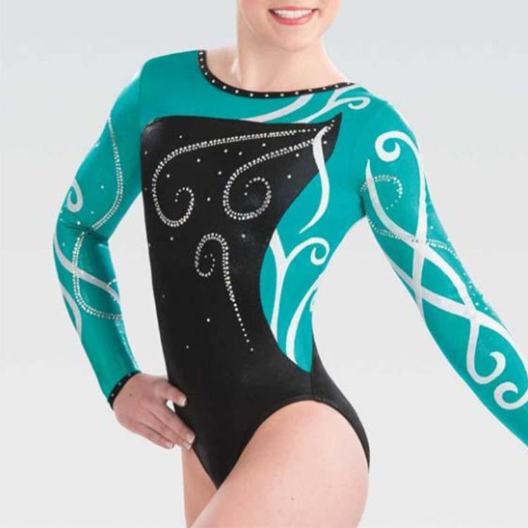 high quality Competition Girls leotard ballet dancing gymnastic girls dance wear