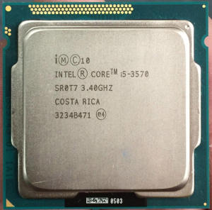 Brand new i5 3570 3.4GHz lga1155 socket cpu core i5
