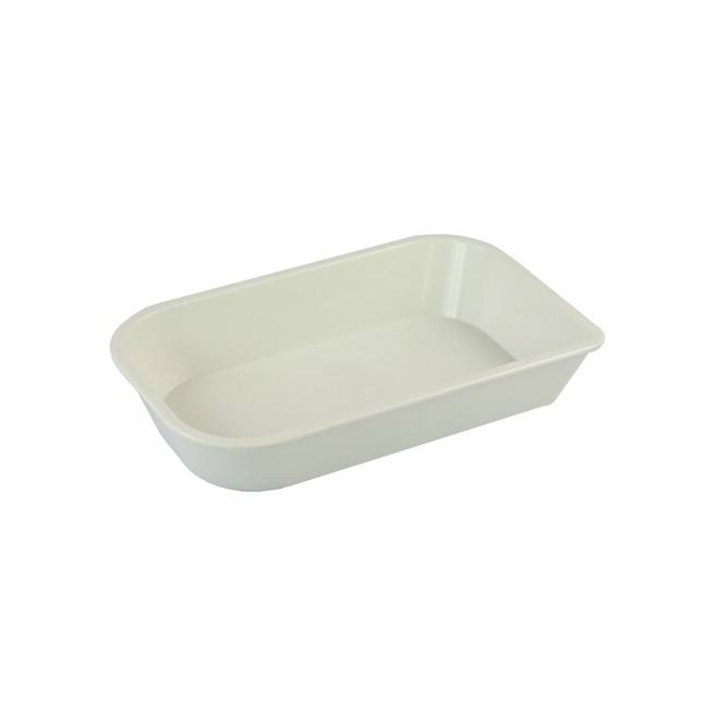 Rounded Edge Oblong Plastic PPSU Oven Safe Plastic Casserole for Airline