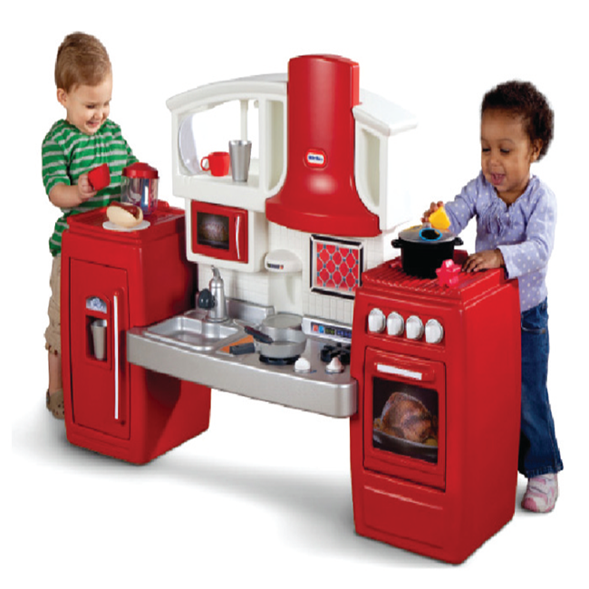 Kids household kitchen toy plastic cooking play set baby toy kitchenware
