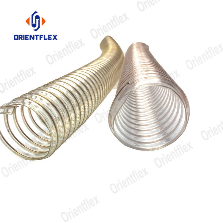 Best price of polyurethane pu duct hose pipe manufacturer