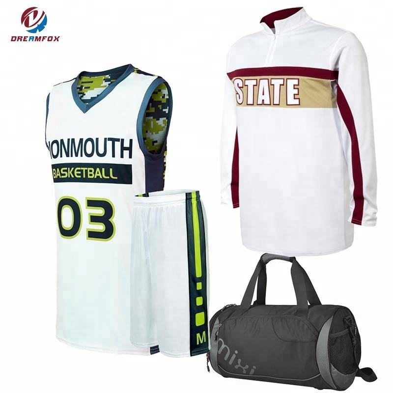 Tiro basket shirt uniforme di basket design personalizzato sublimata uniforme di basket