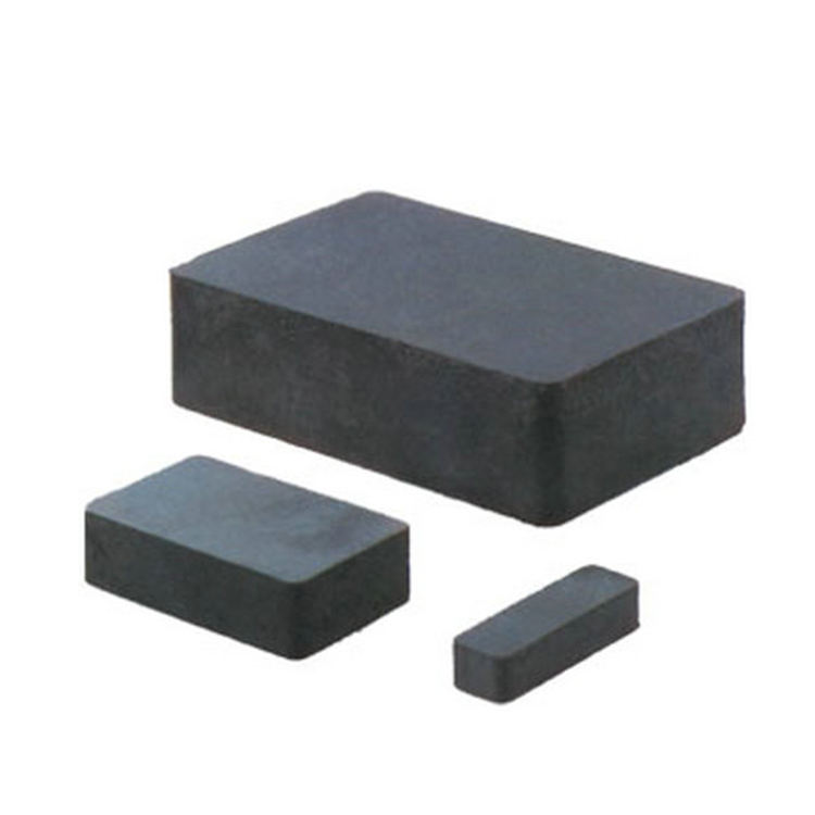 Custom factory different size tool available ceramic black various shapes grade C8 strong block ferrite magnet