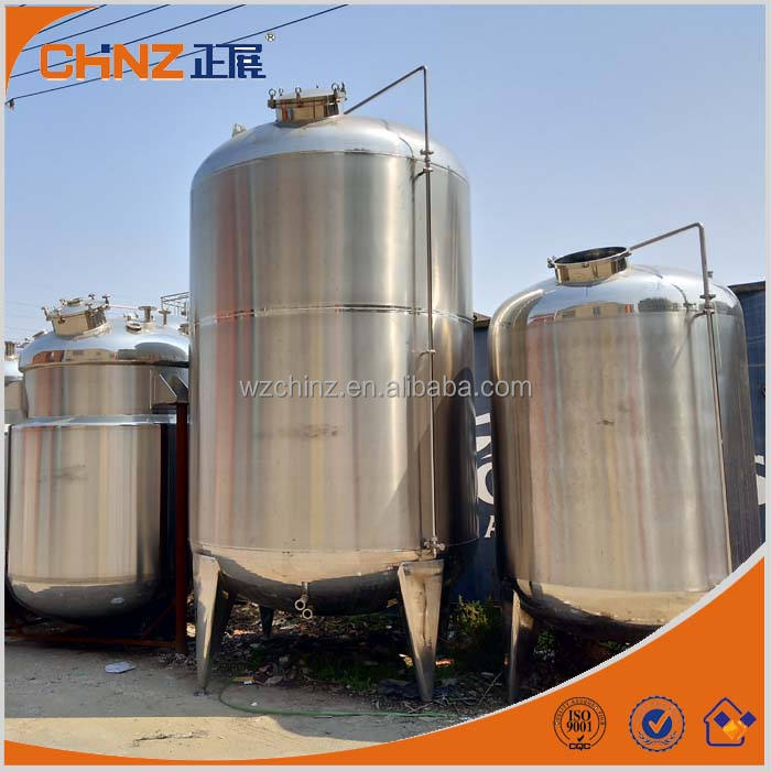 huge stainless steel syrup storage tanks with CE