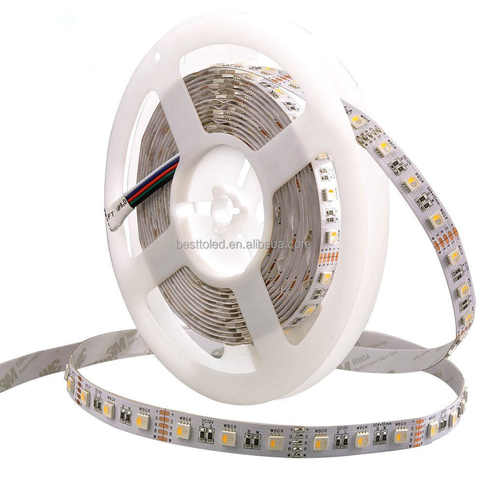 <span class=keywords><strong>4</strong></span> colori in 1 Circuito Integrato del LED Flessibile di RGB + Bianco/RGB + Warm bianco 60 LED/m SMD5050 <span class=keywords><strong>4</strong></span> in 1 RGBW LED Strip <span class=keywords><strong>luce</strong></span>