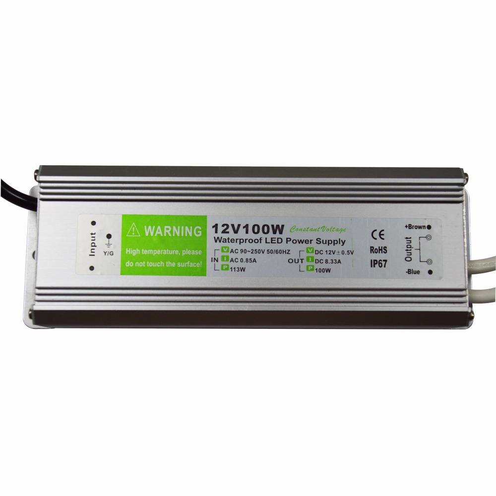 Konverter frekuensi 60 hz 50 hz led power supply 100 w 12 v power supply