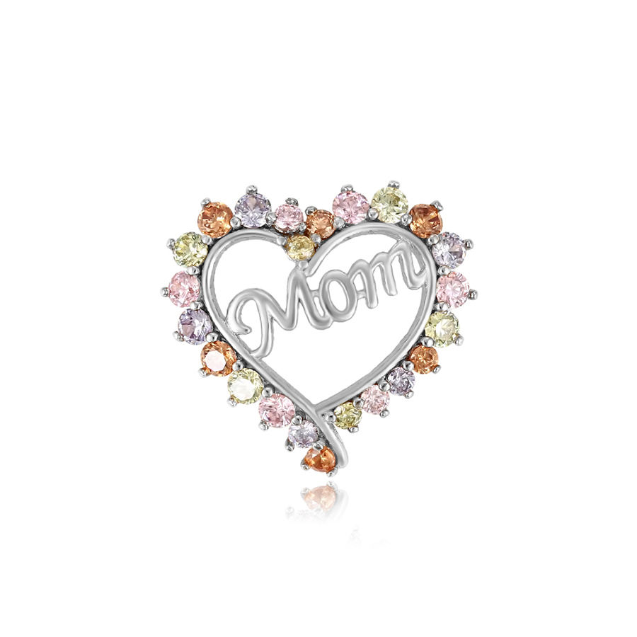33304 Xuping love mom pendente di cristallo del cuore