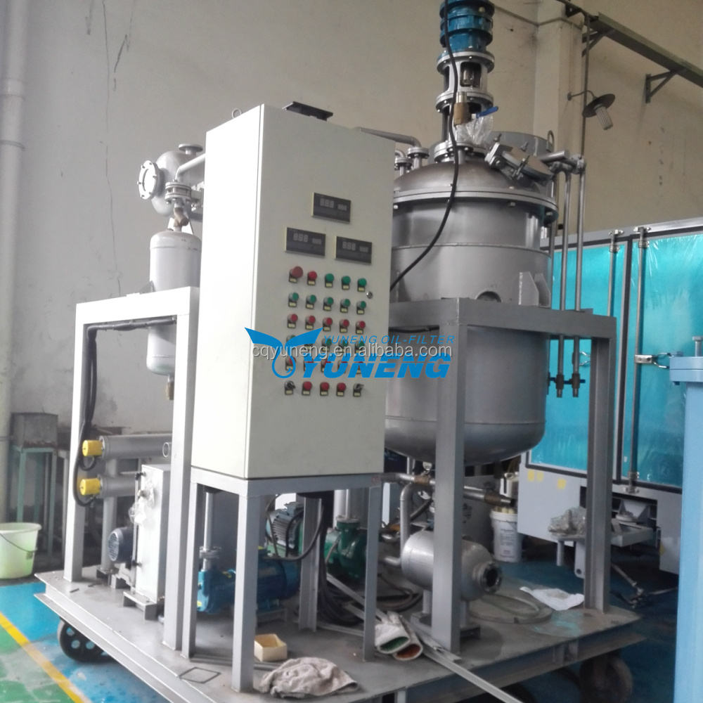 Industrial Pyrolysis oil to diesel convert refinery equipment crude oil recycling machine