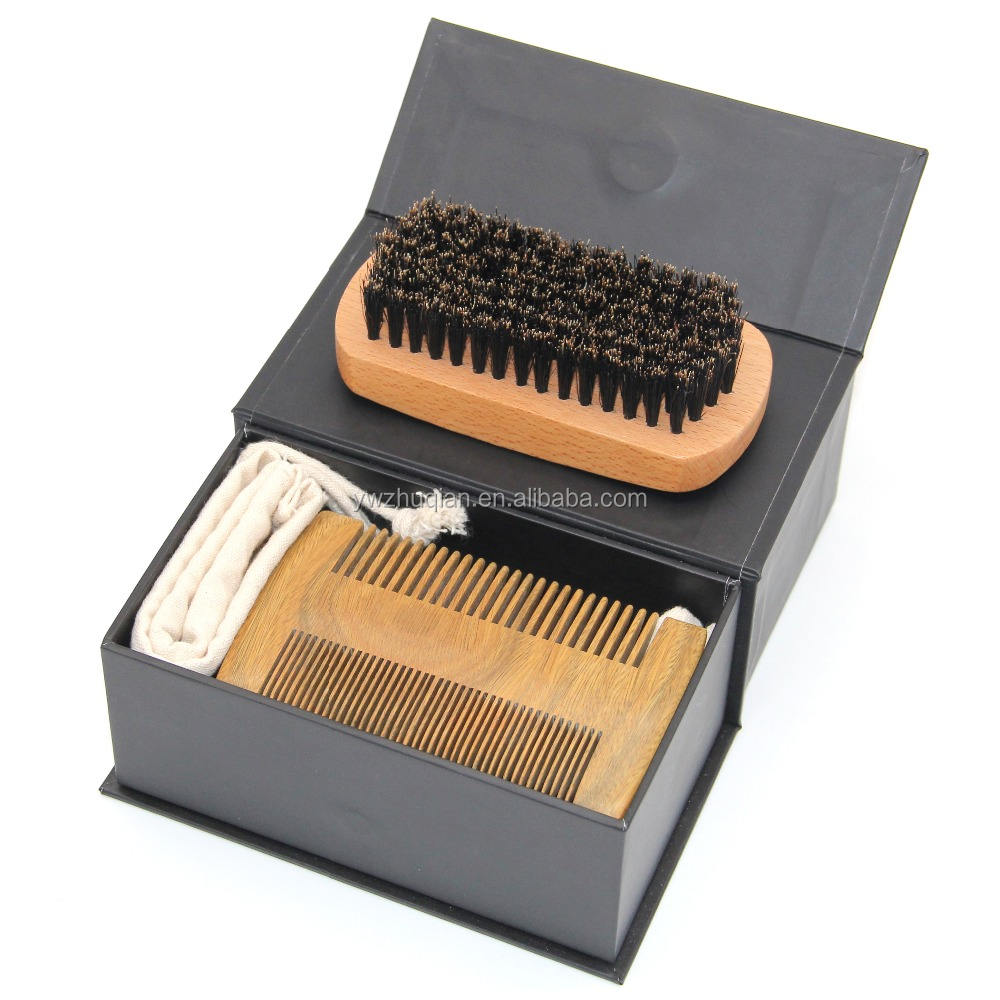 Big size ODM metal tooth Beard Styling Template Comb, metal beard comb