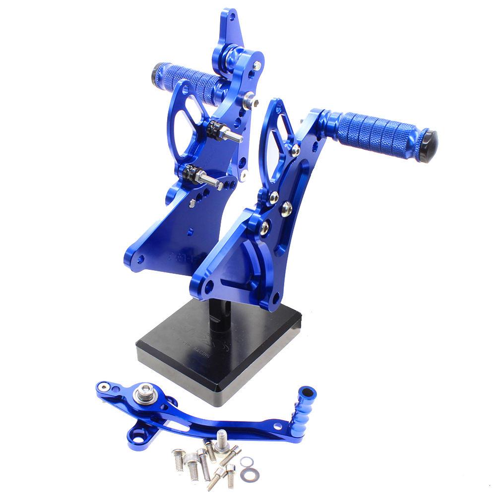 TARAZON Estriberas Ajustables CNC Reposapi/és de Moto para Buell XB9 XB12 R S XB9R XB12R XB9S XB12S