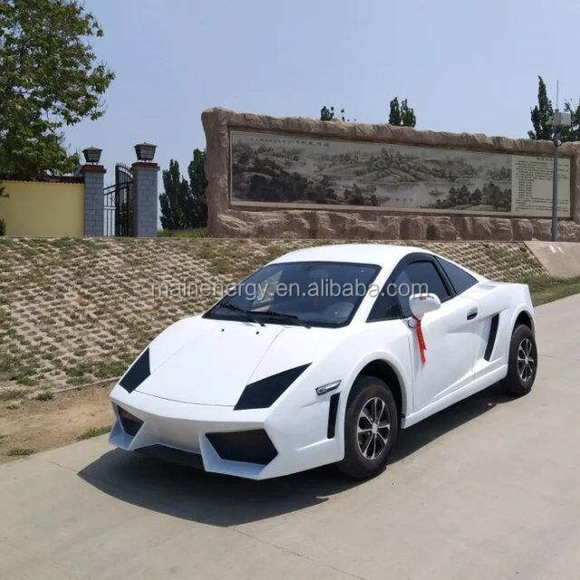 electric sport car with good design
