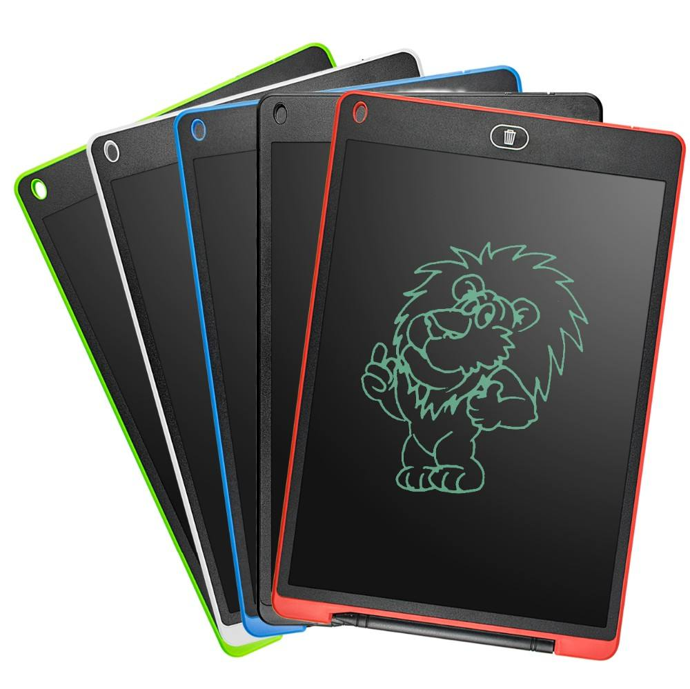Cancellabile ultra sottile rilievo di scrittura 12 pollice elettronico LCD writing tablet grafica progettazione <span class=keywords><strong>notebook</strong></span> scrittura pad con il blocco dello schermo
