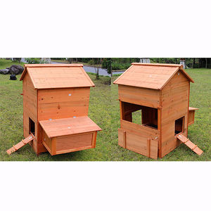 High Quality Homemade Wholesale wood chicken coop wholesale durable wood chicken rabbit coop