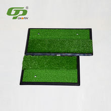 New Arrivals GP green artificial practice putting swing grass turf customized golf hitting mat
