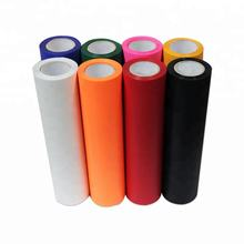 Kenteer wholesale rolls htv textile fabric pvc heat transfer vinyl for t shirts