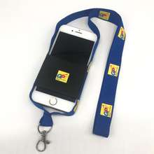 2019 Hot Selling Cell Phone Lanyard with Elastic Holder