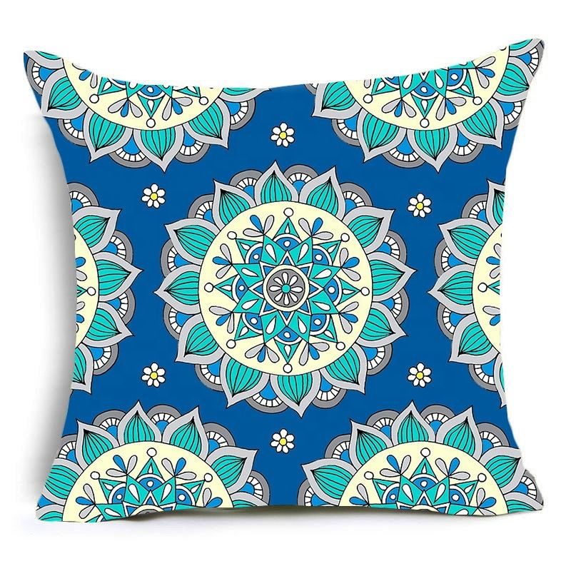wholesalers ethnic india cushion covers printed cushion cover linen