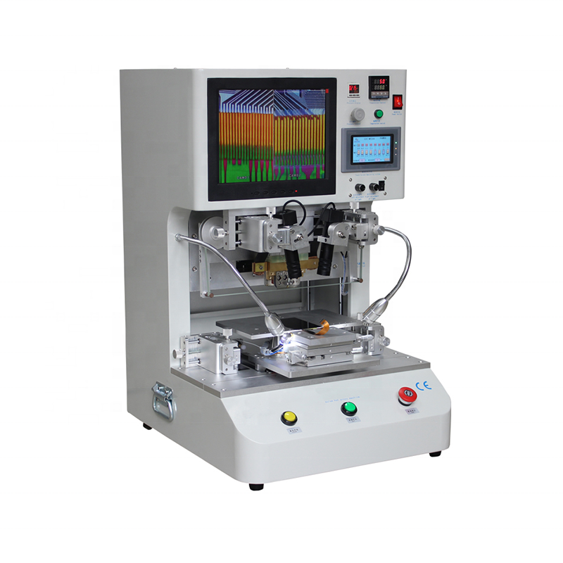 TAB COF ACF LCD Flex Cable Bonding Machine For FPC To PCB /HSC To FPC Flexible Circuit Board Wire Hot-Press Welding