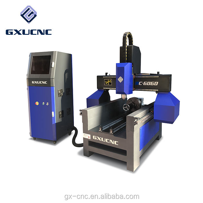 Guide rail table used 3D woodworking CNC router with CE