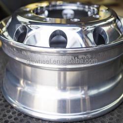 Tubeless aluminum truck wheel 19.5X6.00
