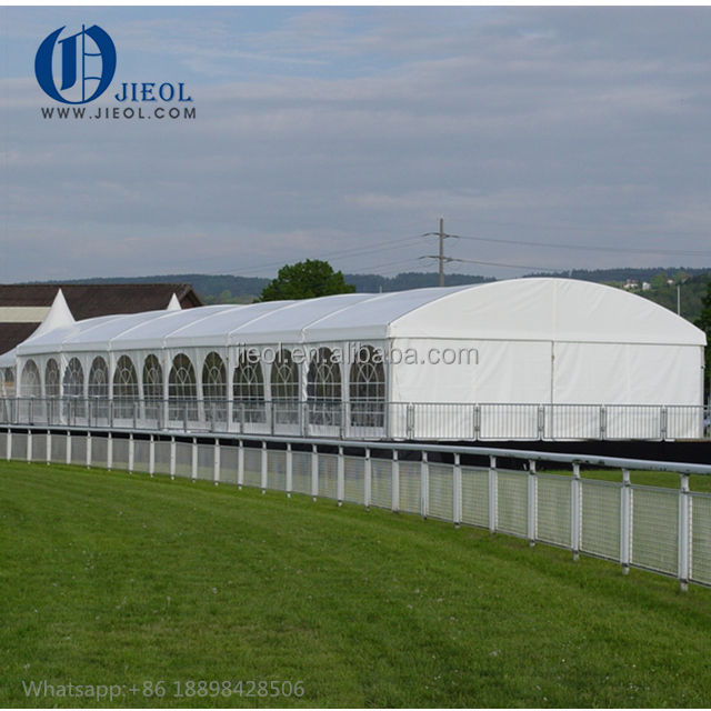 Guangzhou 16x22 party event 300 seater white PVC marquee tent for sale