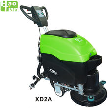 Haotian classic scrubber drier XD2A industrial floor washing machine scrubber dryer cleaning machine