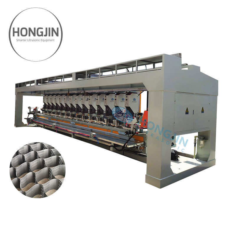 Shanghai Hongjin Automatic Geocell Production Line for Geocell Products