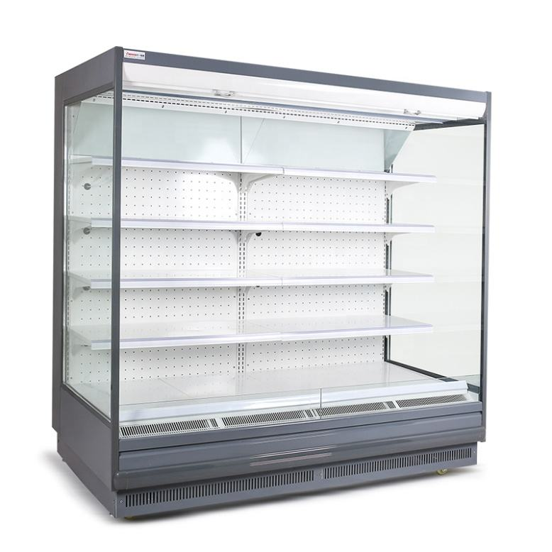 Supermarket refrigeration equipment commercial multideck open chiller display cooler showcase