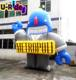 Giant inflatable Robot cartoon