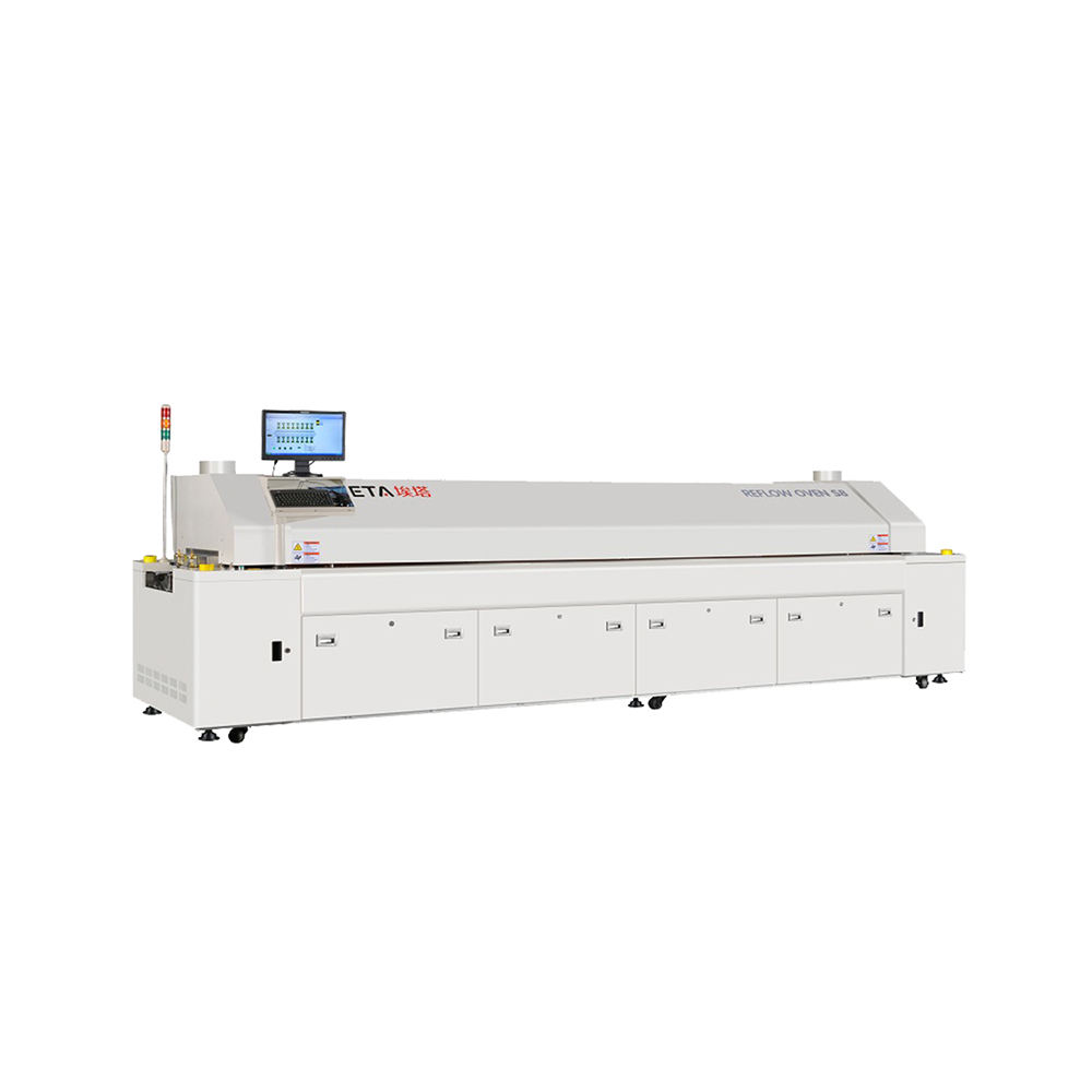 SMT Machine Supplier LED Reflow Oven PCB Welding Machine with Factory Price