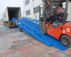 Mechanical mobile loading yard ramp dock for sale