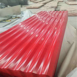 pre-painted Corrugated Sheet Metal Roofing price