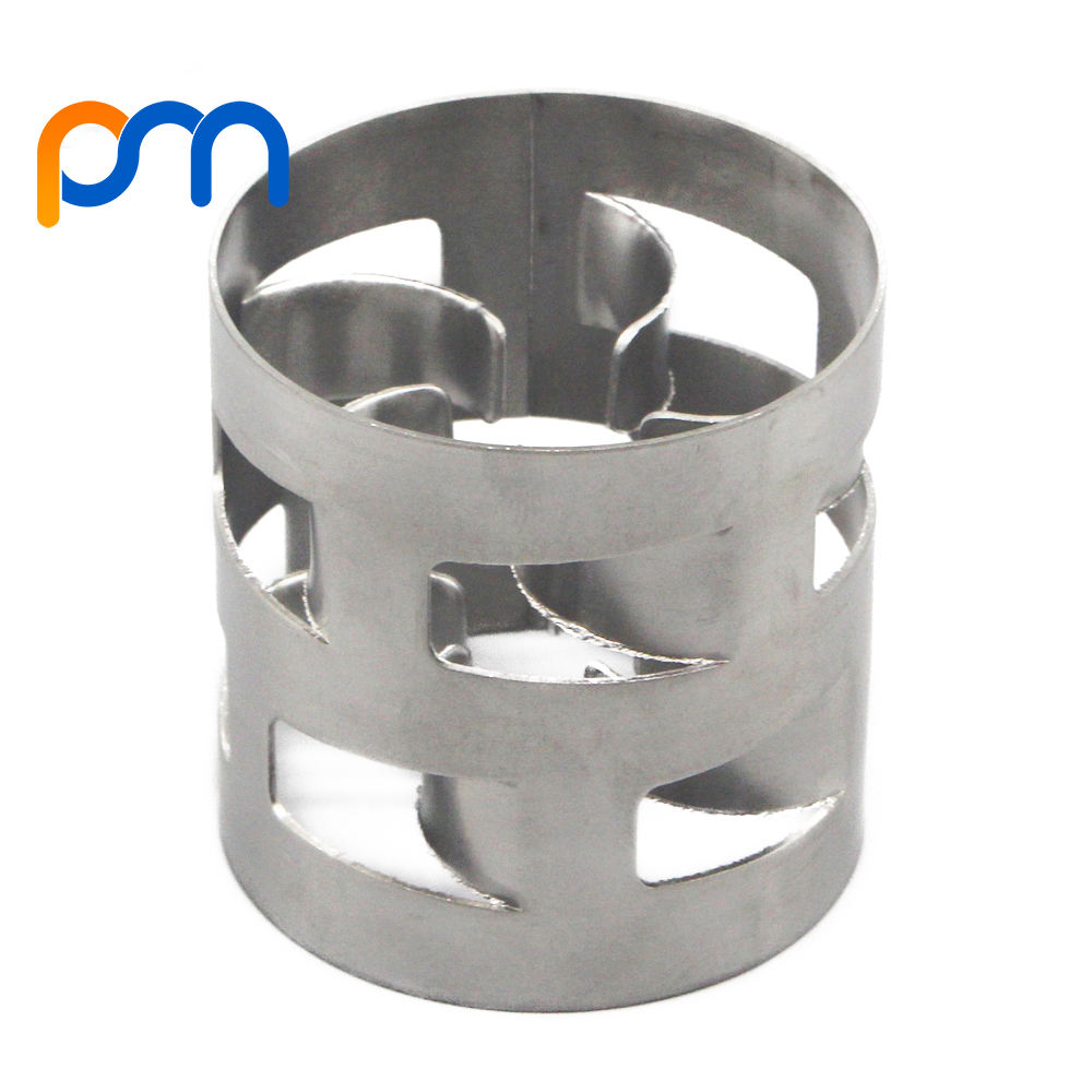 SS304 SS316 metal pall ring packing