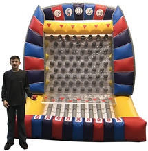 giant inflatable plinko carnival games party