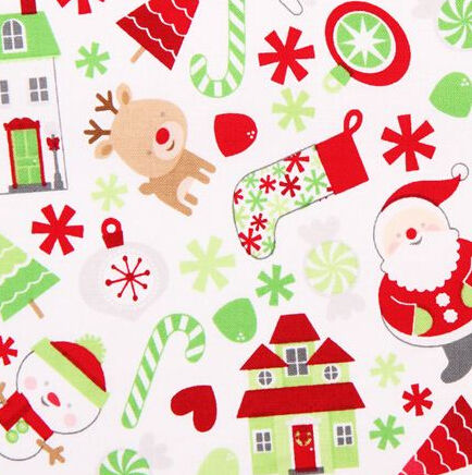 Beautiful Christmas Charm Pack Fabric For Christmas clothing