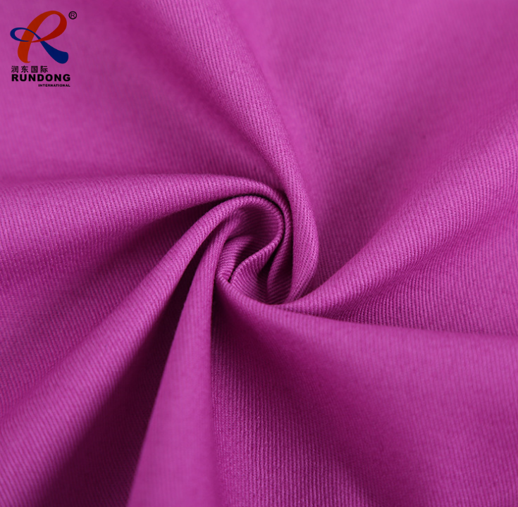 100% polyester 300D*16 220gsm twill gabardine fabric for chef apron