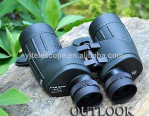Haute qualité d'image 10x50 télémètre jumelles numérique adaptateur télescope