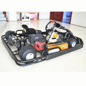 Racing Go kart 6.5HP 4 Stroke Go Kart Engine Adult Pedal Racing Go Kart with Bumper and Cover