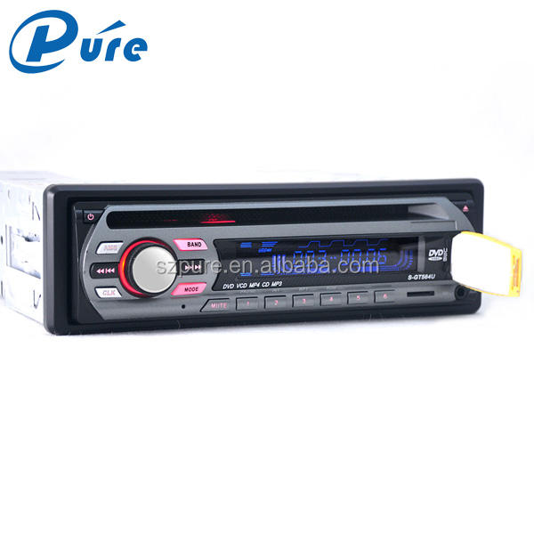 1 Din Xe Dvd Vcd Cd Mp3 Mp4 Player Phổ 12V Xe Dvd Player