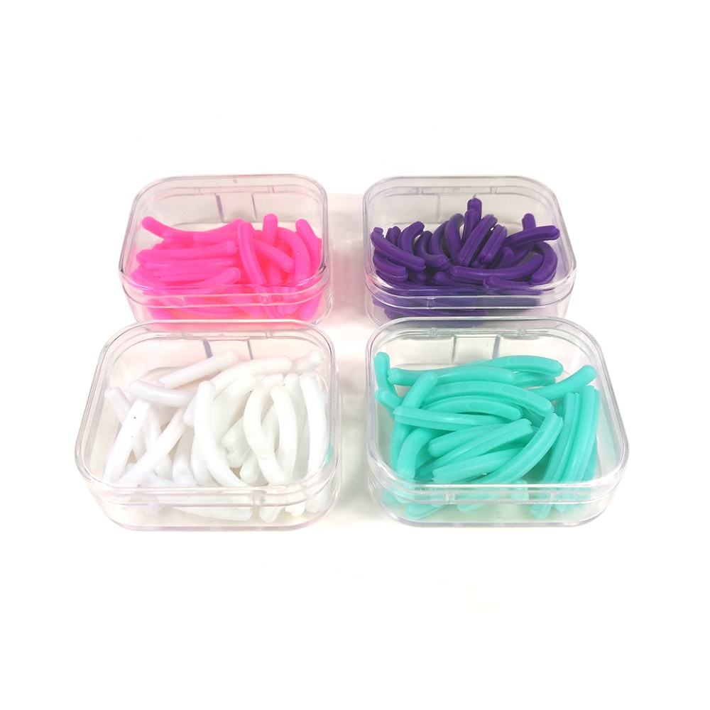 Replacement colorful lash curler eyelash curler silicone pad