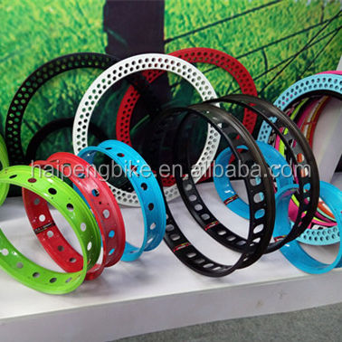 bike parts factory / colored alloy bicycle rim / bicycle single wall rim