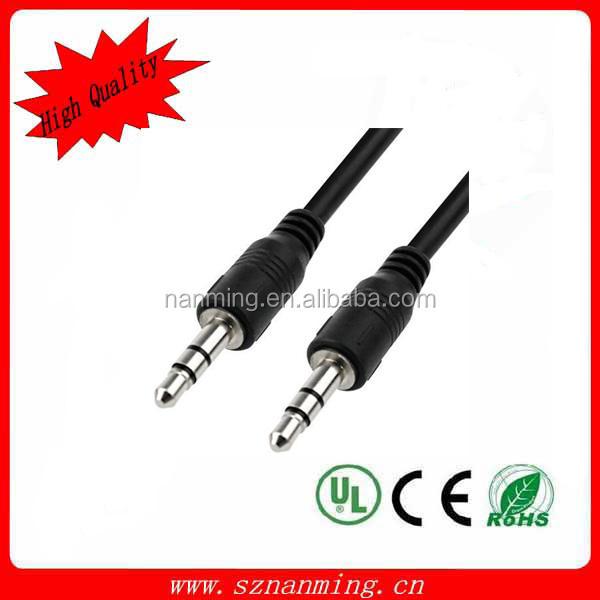 3.5 mm AUX <span class=keywords><strong>auxiliar</strong></span> macho a macho <span class=keywords><strong>Cable</strong></span> de Audio estéreo
