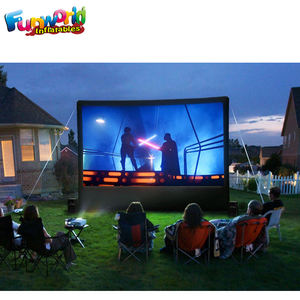 Portable inflatable billboards advertising cinema screen inflatable movie screen