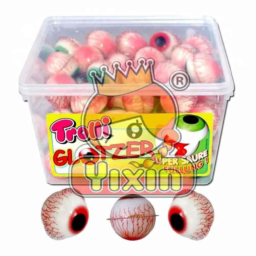 Eye ball bubble gum candy food, candy food