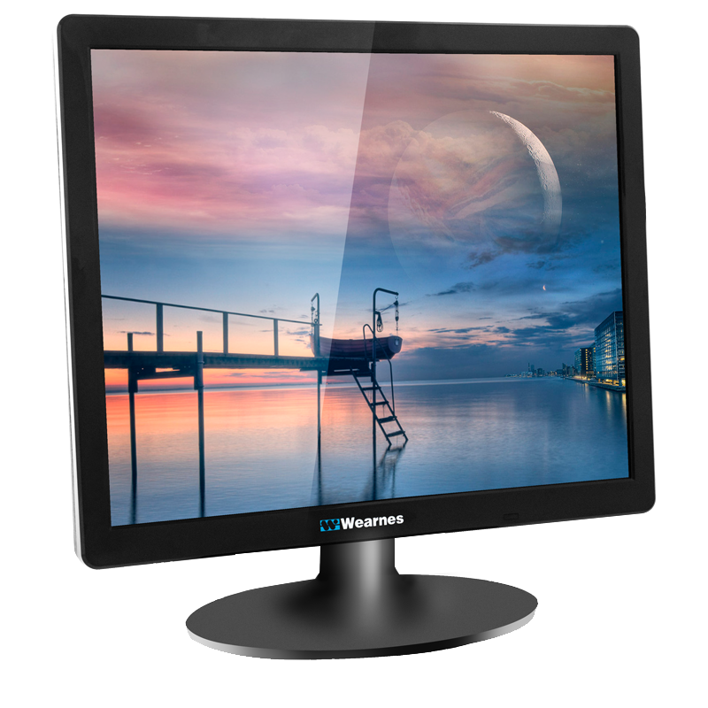 "New arrival desktop computer portable lcd 17"" monitor"