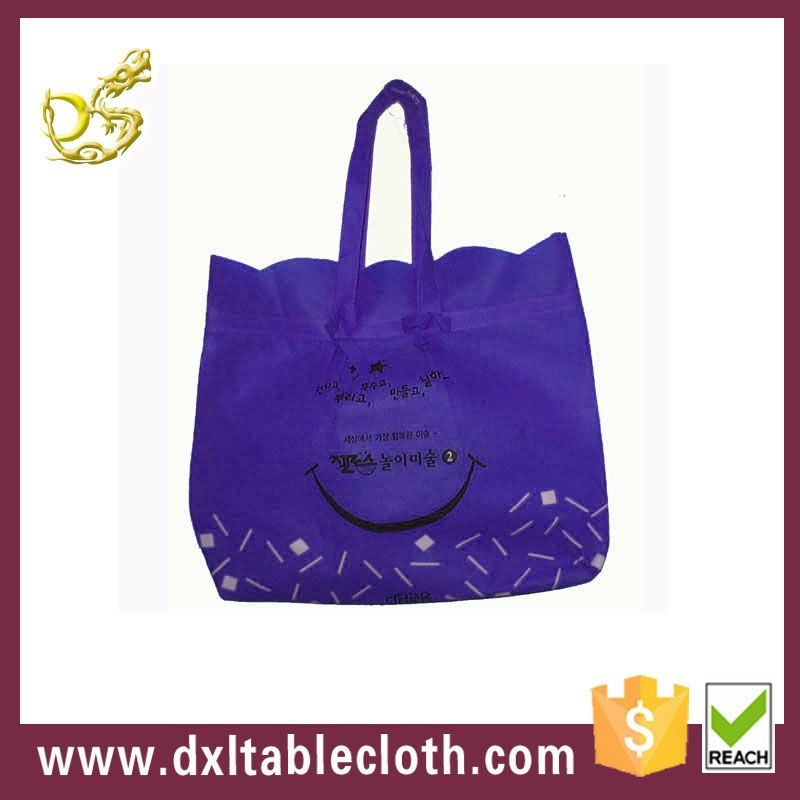 100% qc stampa cmyk di shopping personalizzato sacchetto non tessuto